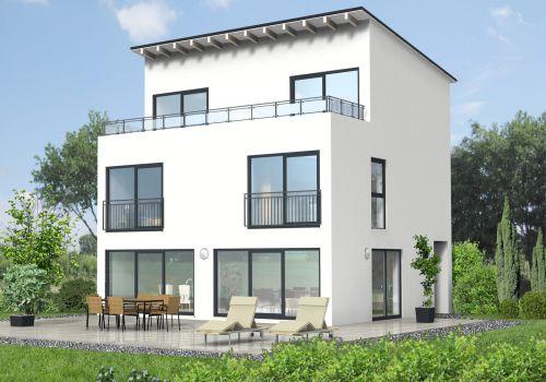 bauberatung baubetreuung baufinanzierung bauplanung pultdachhaus 160 m. Black Bedroom Furniture Sets. Home Design Ideas